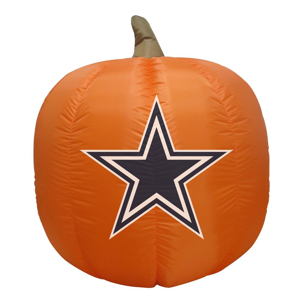 4 ft. Dallas Cowboys Inflatable Pumpkin
