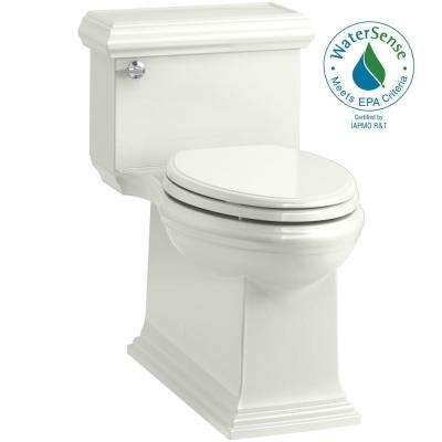Memoirs Classic 1-Piece 1.28 GPF Single Flush Elongated Toilet in Dune, Seat Included