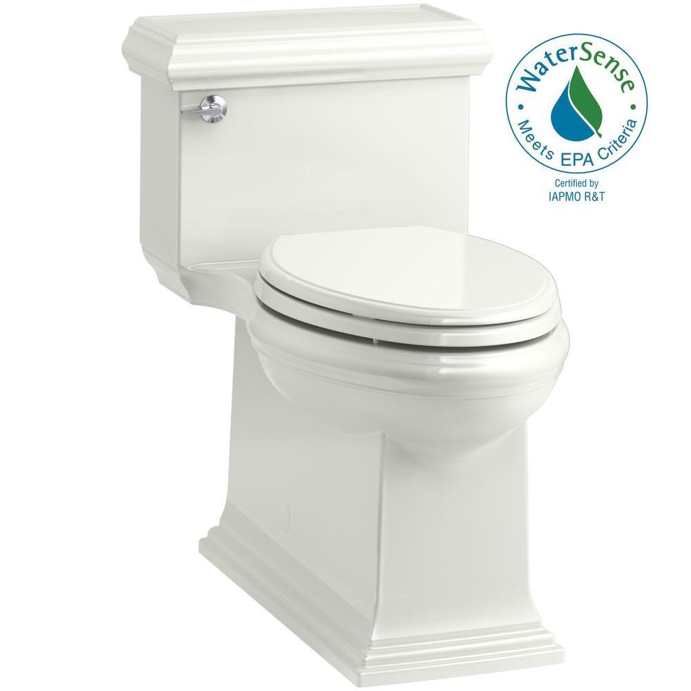 Memoirs Classic 1-Piece 1.28 GPF Single Flush Elongated Toilet in Dune