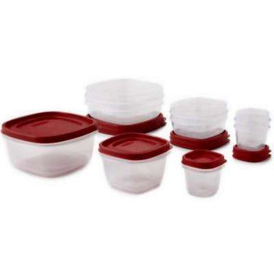Easy Find Lids With Vents 18-Piece Food Storage Container Set