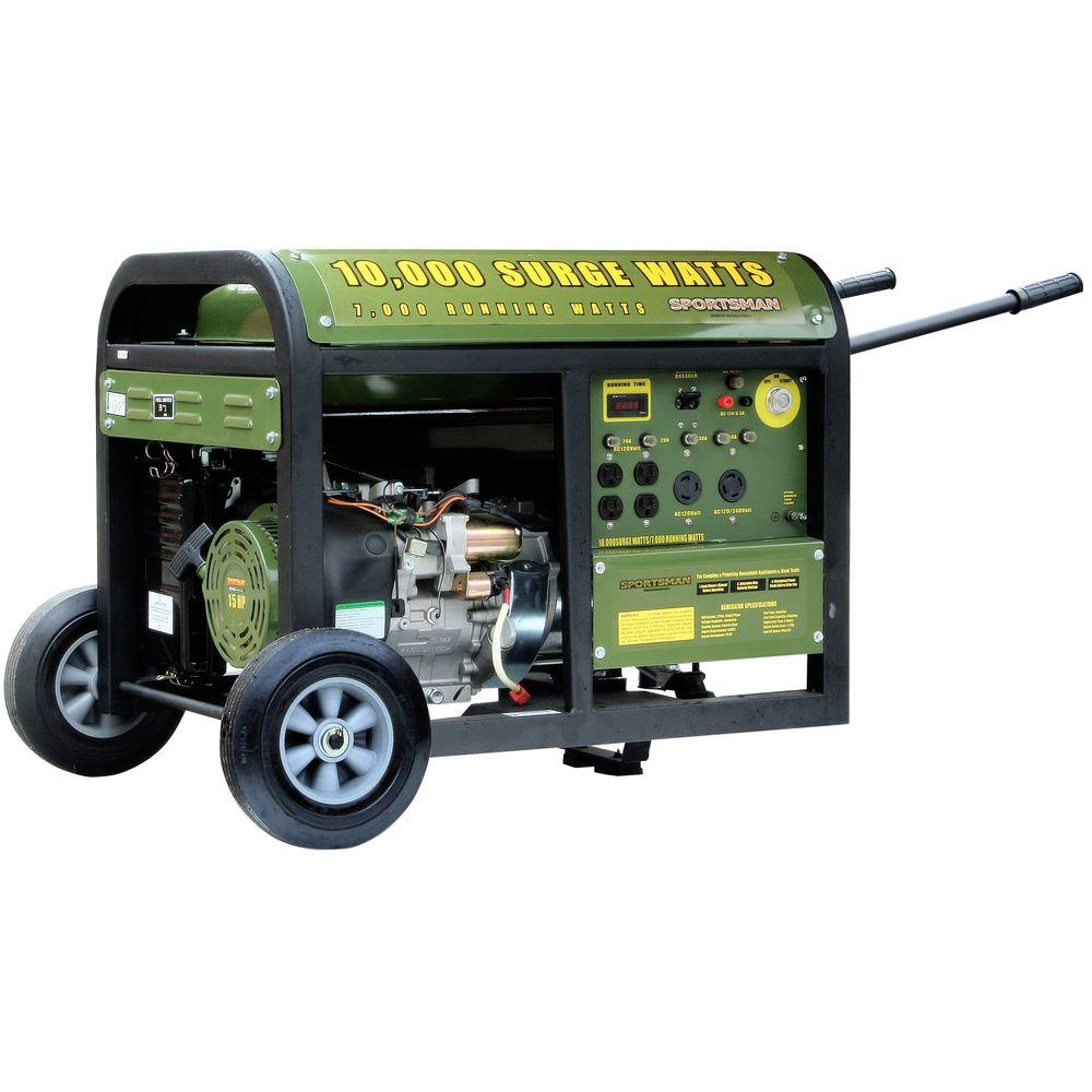 Sportsman 7,000-Watt Gasoline Powered Portable Generator