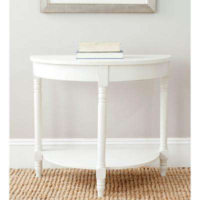 Randell Shady White Console Table