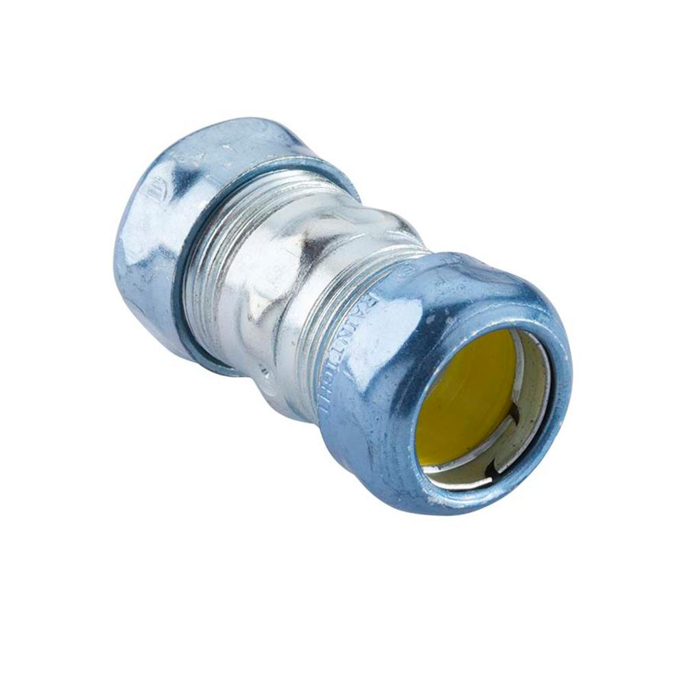 Stainless Steel Conduit Fittings Electrical Boxes For Wire Decorative 1 2 In Metallic Tube Emt Rain Tight Coupling 5