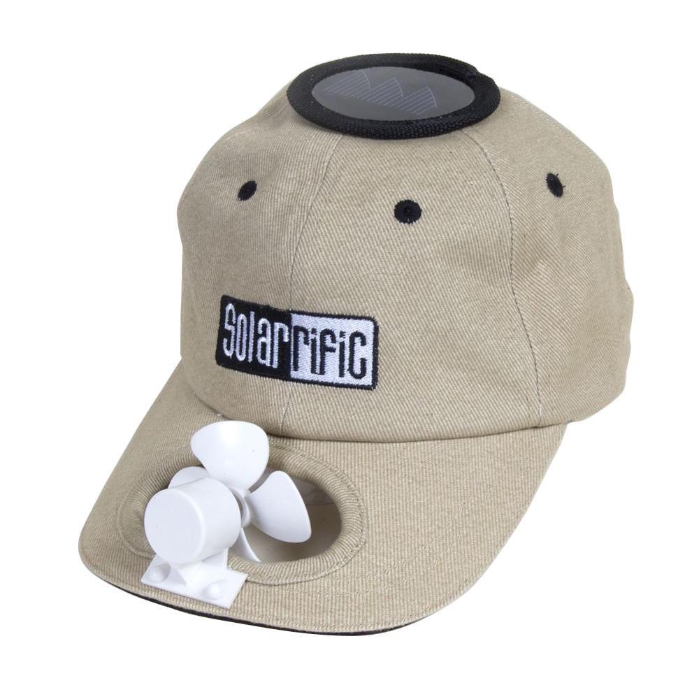 Solar Cooling Hat for Gardener, Beige/Ivory