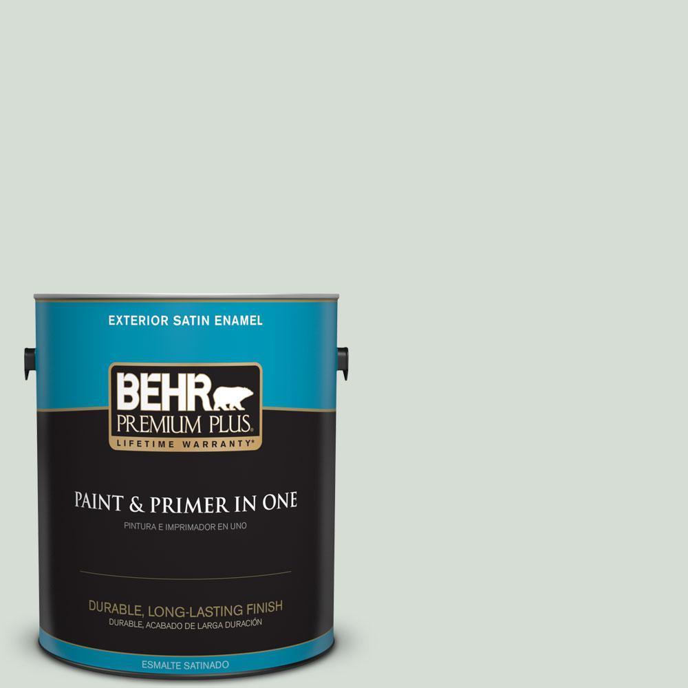 1-gal. #700E-2 Lime Light Satin Enamel Exterior Paint