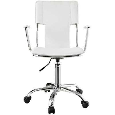 Studio White Office Chair