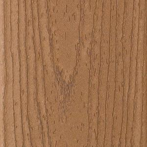 Enhance 1 in. x 6 in. x 16 ft. Trex Beach Dune Grooved Edge Capped Composite Decking Board
