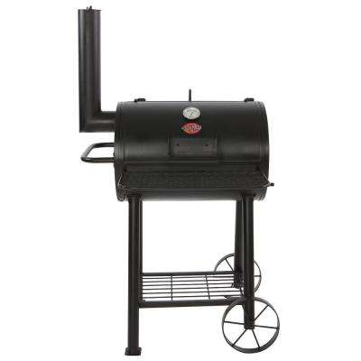 Patio Champ 443 sq. in. Heavy Duty Charcoal Grill in Black