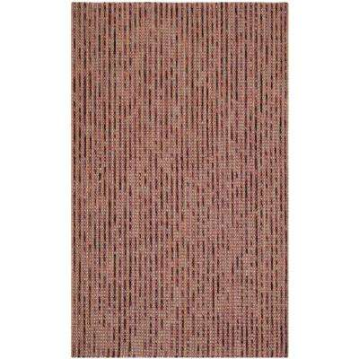 Bohemian Purple/Multi 5 ft. x 8 ft. Area Rug