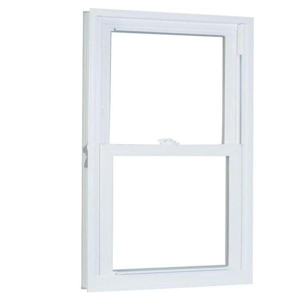 27.75 in. x 53.25 in. 70 Series Pro Double Hung White Vinyl Window