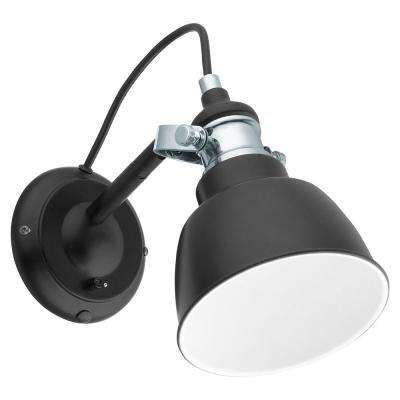 Thornford 5 in. Matte Black Sconce