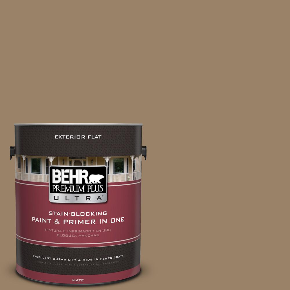BEHR Premium Plus Ultra 1 gal. #UL180-25 Collectible Flat Exterior Paint