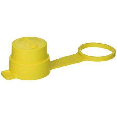 Cap For All 30A Wetguard Locking Plugs IP66, Yellow