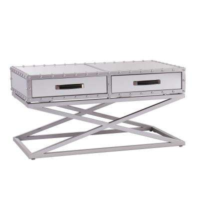 Harry Silver Coffee Table