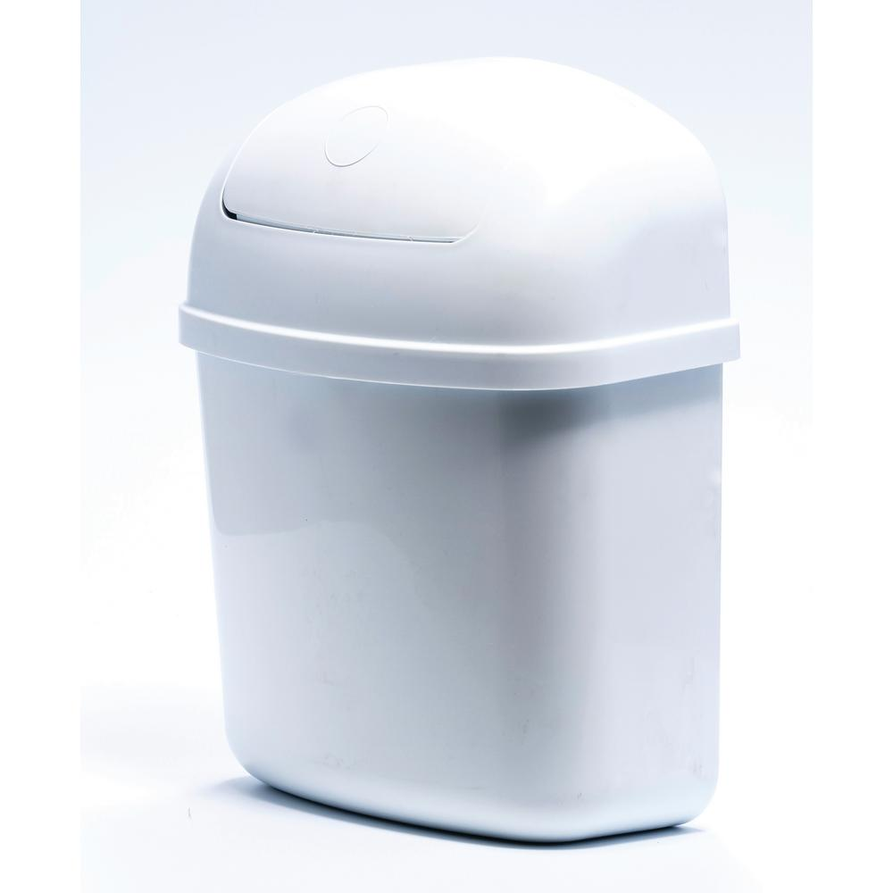 Wall Mounted Trash Can Container