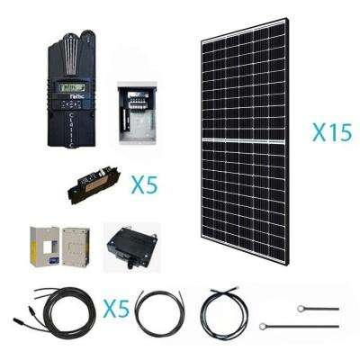 4800-Watt 48-Volt Off Grid Monocrystalline Solar Kit