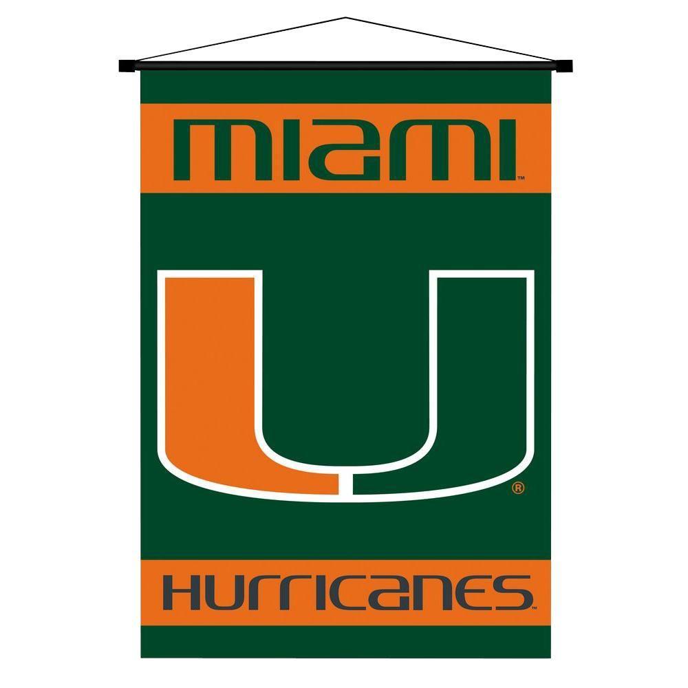 University of Miami (Florida) - Flags - Outdoor Decor - The Home Depot