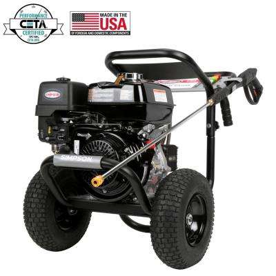 PowerShot 4000 psi at 3.3 GPM HONDA GX270 with AAA Triplex Pump Professional Gas Pressure Washer