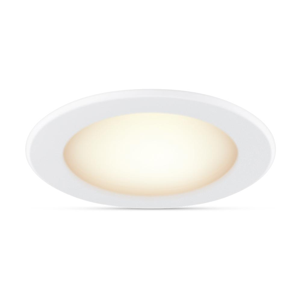 Philips Tunable White 5/6 in. LED 65W Equivalent Dimmable Smart Wi-Fi Wiz Connected Recessed Downlight Kit
