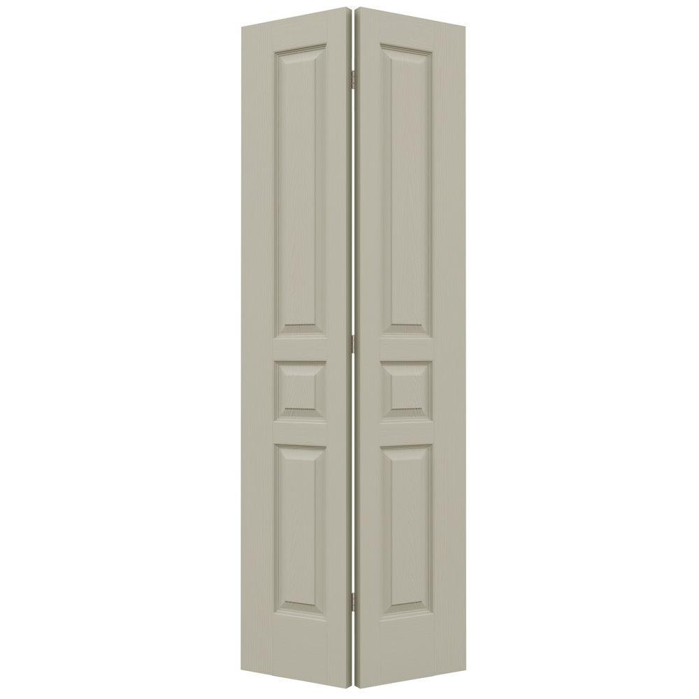32 in. x 80 in. Avalon Desert Sand Painted Textured Hollow