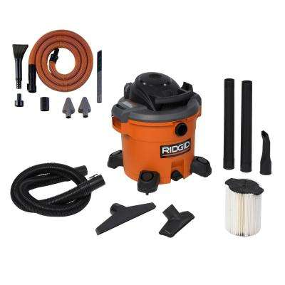 12 gal. 5.0-Peak HP Wet Dry Vac with Auto Detail Kit