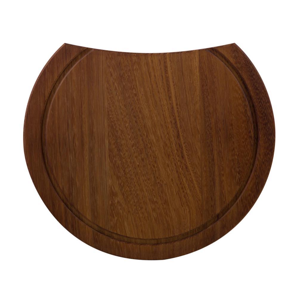 ALFI BRAND 15 in. Wood Cutting Board in Brown for AB1717DI-W
