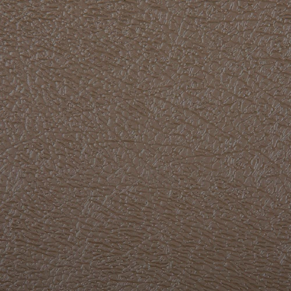 HDX 10 ft. Wide Textured Mocha Vinyl Universal Flooring Your Choice Length