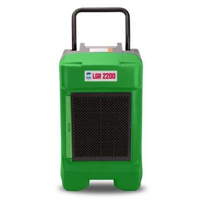 225-Pint Commercial Dehumidifier for Water Damage Restoration Mold Remediation in Green (8-Pack)