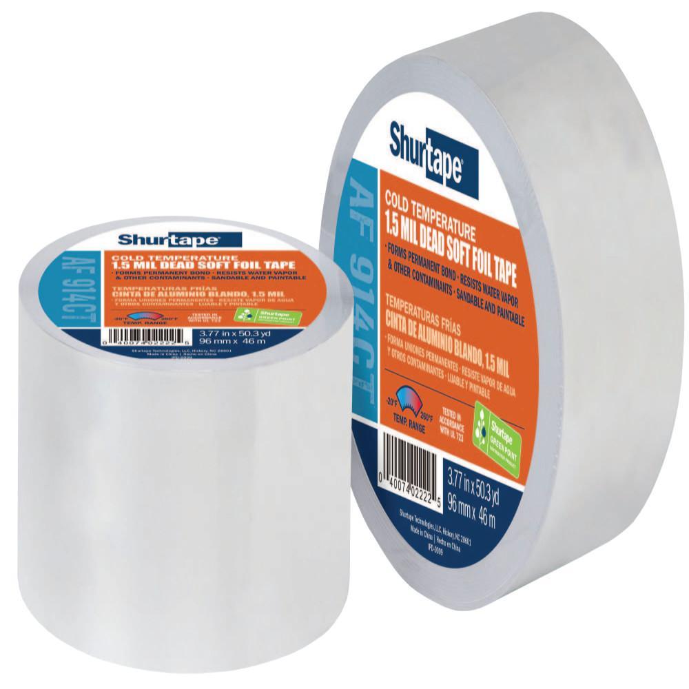 1.88 in. x 50 yds. Aluminum Foil Repair Tape
