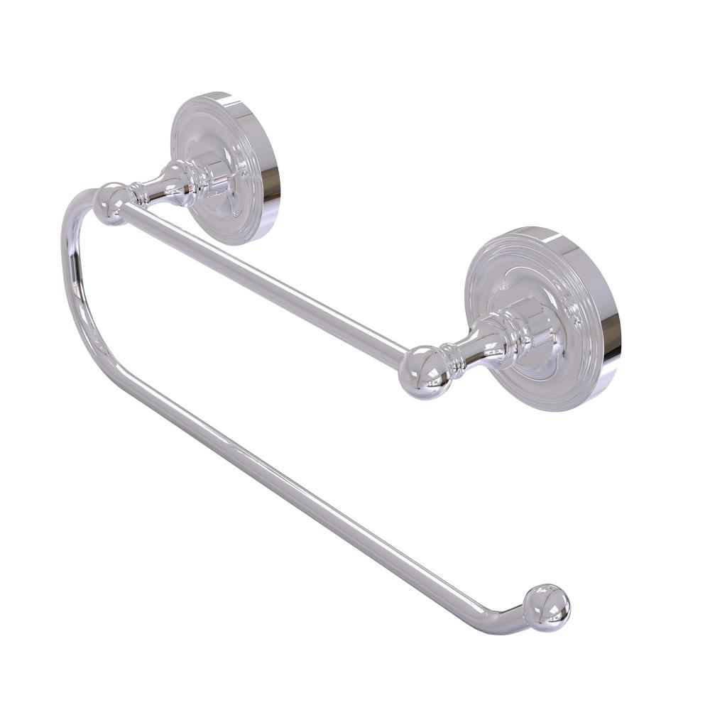 Prestige Regal Wall Mounted Double Post Toilet Paper Holder in Polished