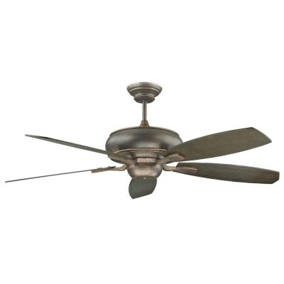 Nevaeh 60 in. Oil Rubbed Bronze Ceiling Fan with 5 Blades