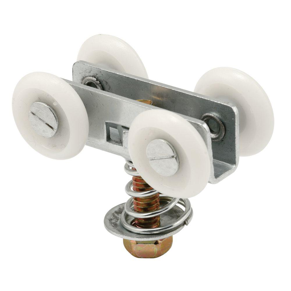Prime-Line 1 in. Wide Track 7/8 in. Nylon Wheels Pocket Door Roller-DISCONTINUED