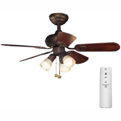 San Marino 36 in. LED Oil-Rubbed Bronze Smart Ceiling Fan with Light Kit and WINK Remote Control