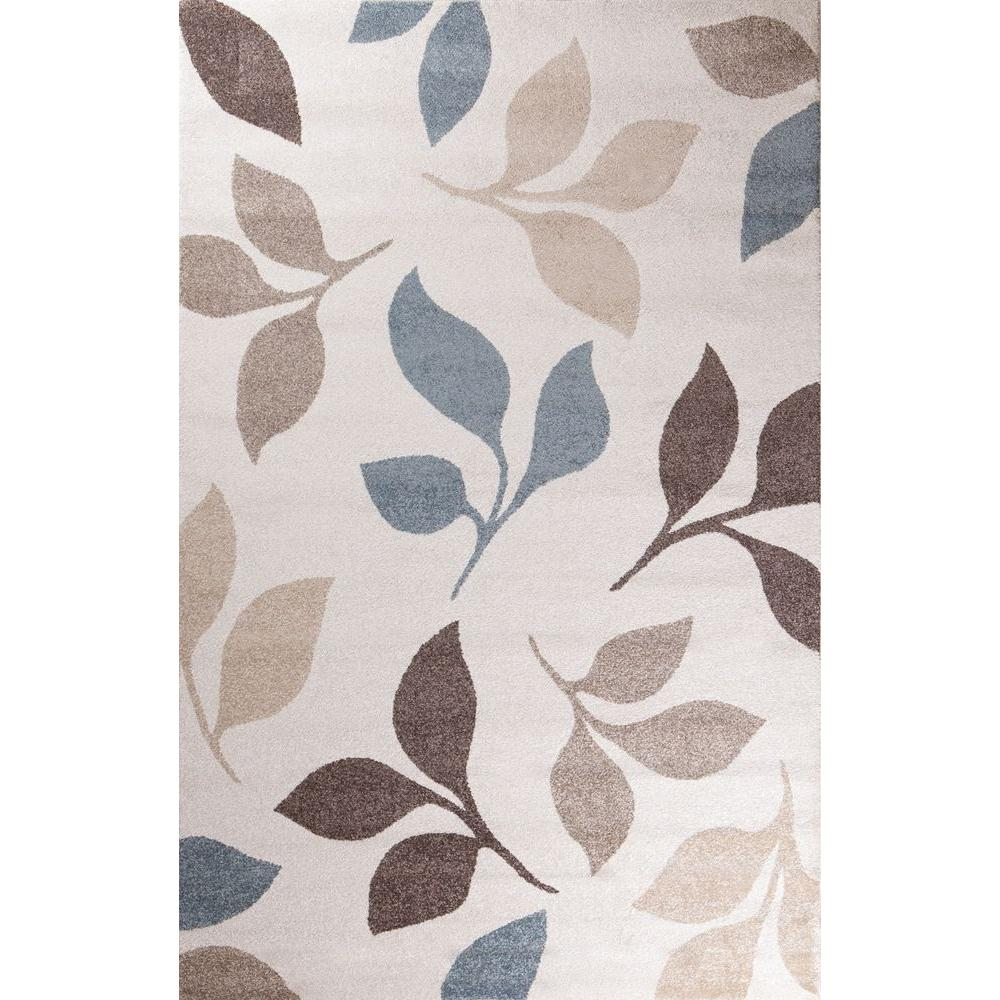Casa Collection Canyon Ivory 6 ft. 7 in. x 9 ft.