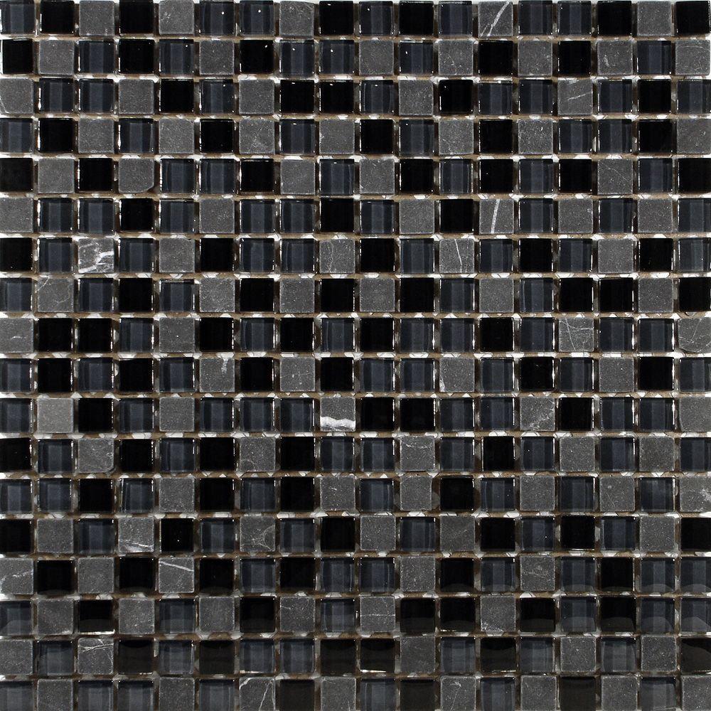 Tessera Mini Bizancio 11-3/4 in. x 11-3/4 in. x 8 mm
