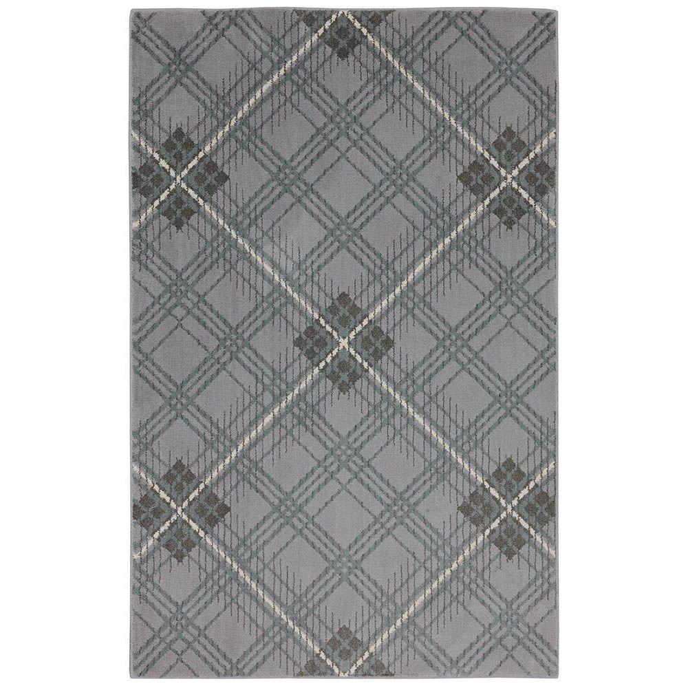 American Rug Craftsmen Plaid Shadow 3 ft. 6 in. x 5 ft. 6 in. Accent Rug