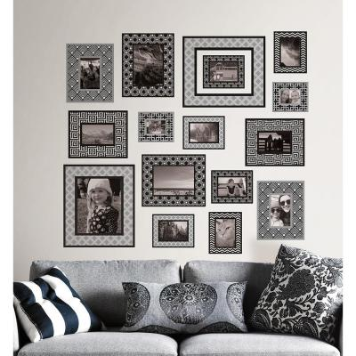 34.5 in. x 39 in. Photo Gallery Wall Decal