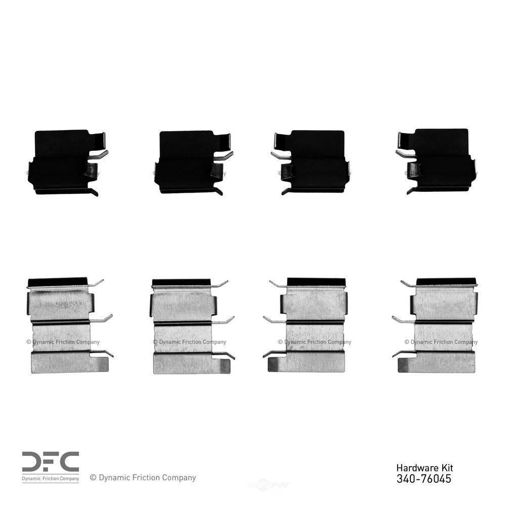 Disc Brake Hardware Kit Rear DFC 340-76020