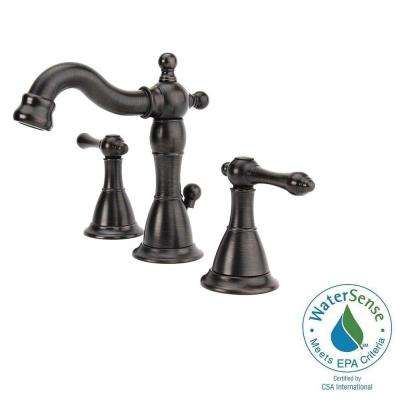 Bellver 8 in. Widespread 2-Handle Mid-Arc Bathroom Faucet in Oil Rubbed Bronze