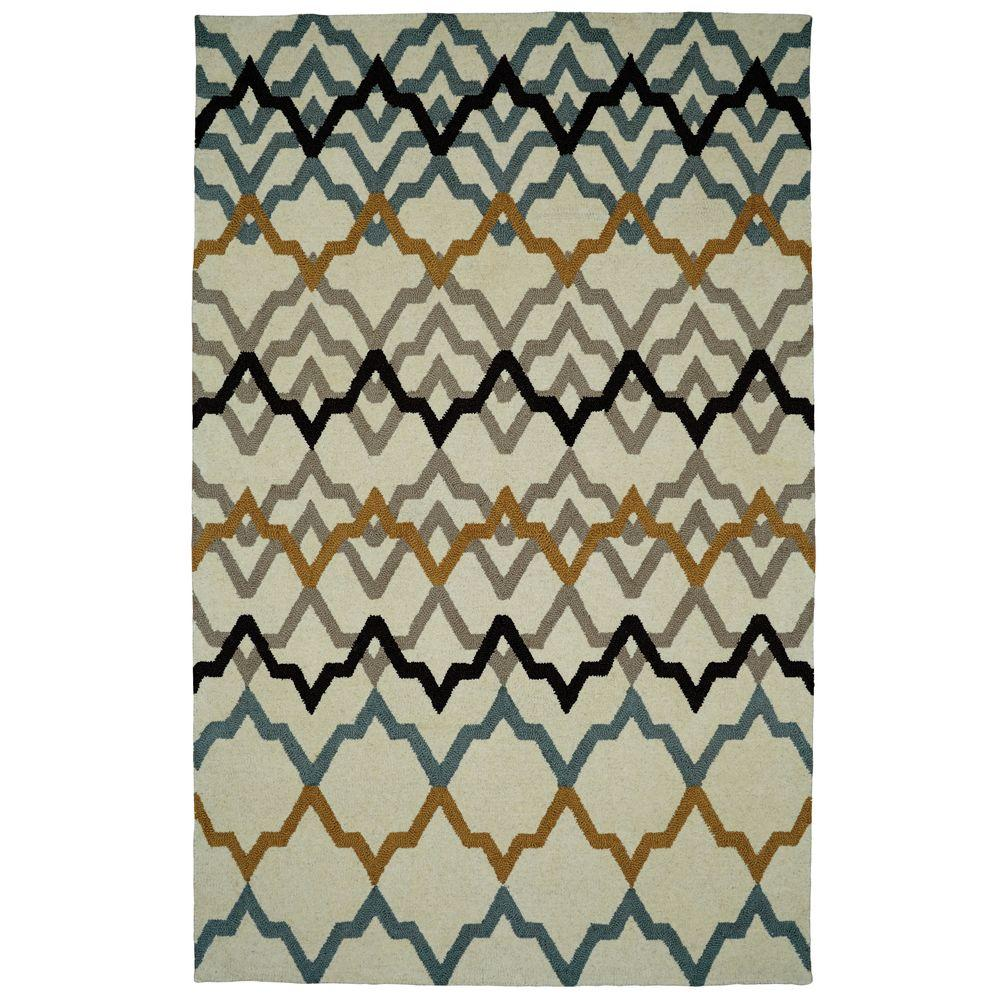 Palace Ivory 4 ft. x 6 ft. Indoor Area Rug