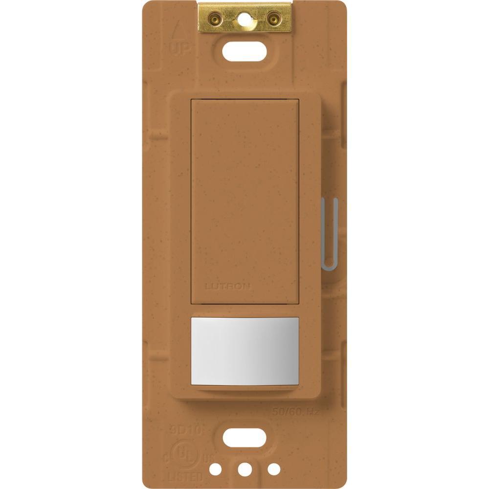 Maestro Motion Sensor Switch, 5-Amp, Single-Pole or Multi-Location, Terracotta