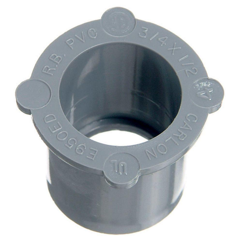 3 in. 2-1/2 in. PVC Reducer Bushing (Case of 25)