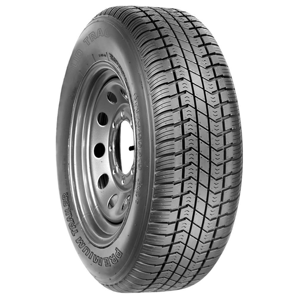 Solid Trac Premium Trailer tires ST205/75D15