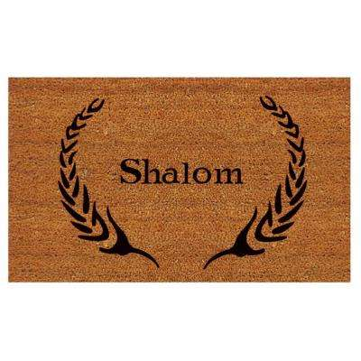 Shalom 24 in. x 36 in. Door Mat