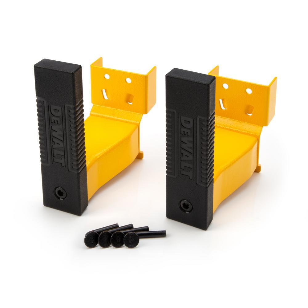 DEWALT DXSTA26CLB 2-Piece 6-Inch Cantilever Bracket Set for DXST Storage Racks