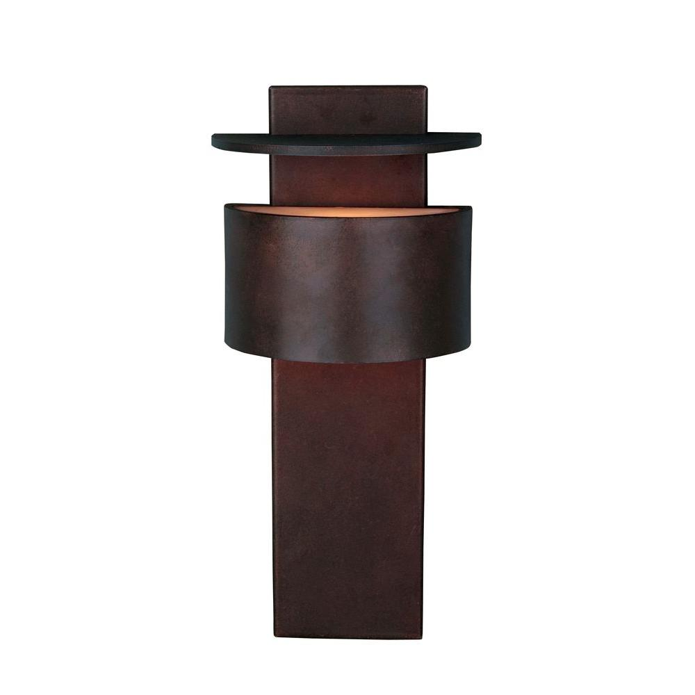 lamps for bedrooms kenroy home mantanzas slate and copper wall 12051