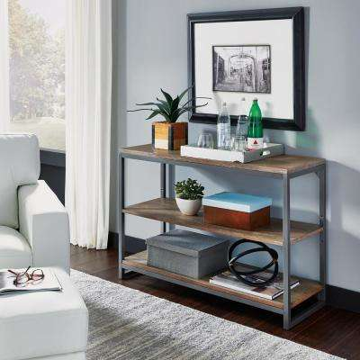 Barnside Metro Driftwood Gray Console Table