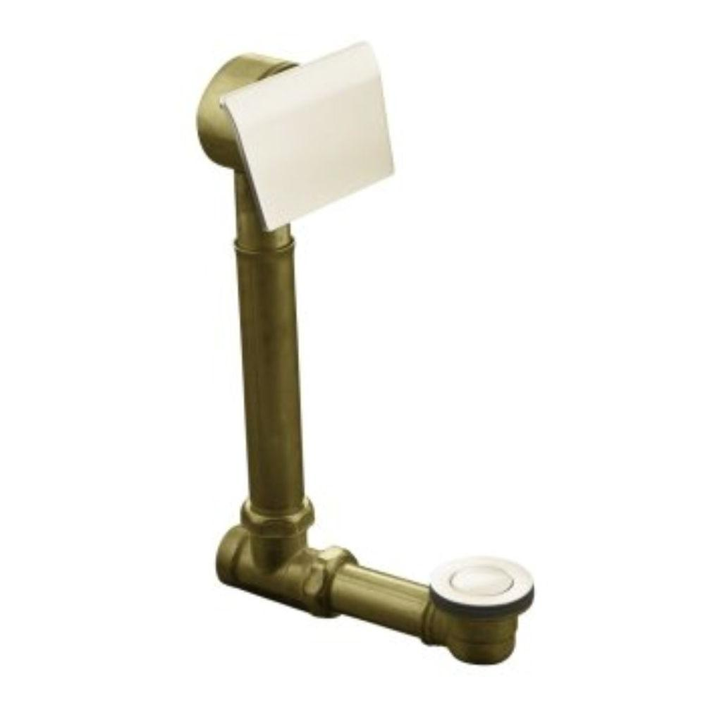 KOHLER Clearflo 1-1/2 in. Brass Adjustable Pop-Up Drain in Vibrant Brushed Nickel