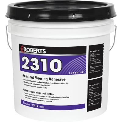 2310 4 Gal. Resilient Flooring Adhesive for Fiberglass Sheet Goods and Luxury Vinyl Tile