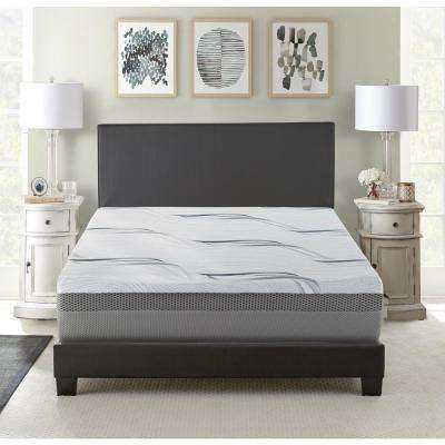 King Medium to Firm Gel Memory Foam Mattress
